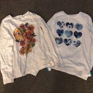 NWOT long sleeve girls shirts